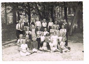 Klassenfoto 1947 met Piet Beets